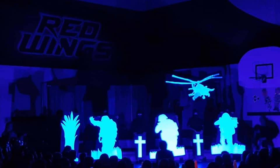 Grade 6 Black Light Group - Remembrance Day Video Link
