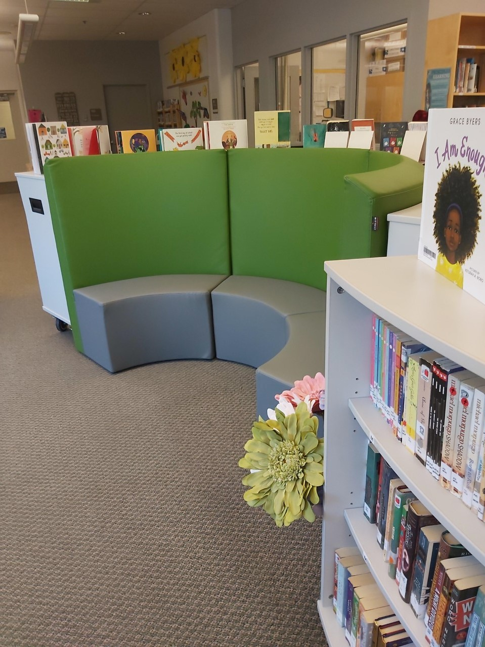 A new look for our library - thank you PAC for your generosity!