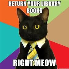 All library books are due back June 13th!