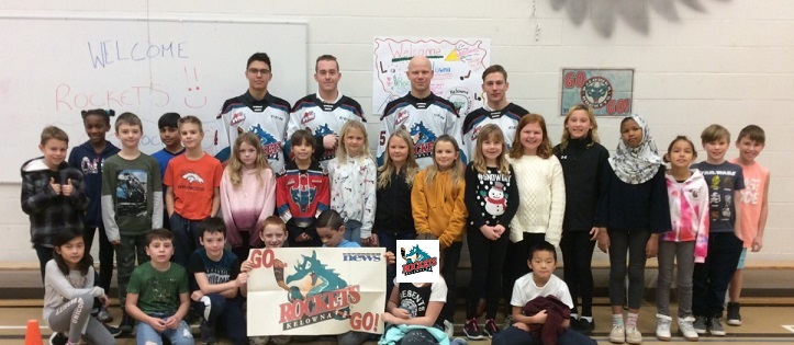 Gratitude for the Kelowna Rockets